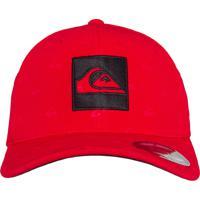 085e622385a4d Boné Quiksilver Allover Q Logo Vermelho