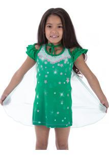 Camisola Inspirate Com Capa Verde