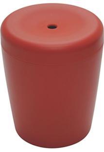 Puff Multiuso Polipropileno Vermelho - 19542 - Sun House