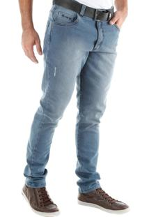 Calça 2216 Jeans Slim Traymon Azul Claro