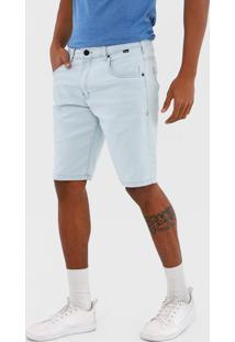 Bermuda Jeans Hurley Reta Sky Azul