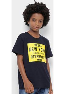 Camiseta Infantil Colcci Fun New York Masculina - Masculino