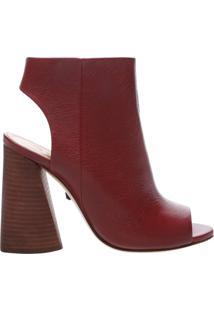Sandal Boot Red Brown | Schutz