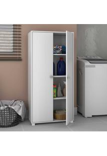 Armário Multiuso 2 Portas Bs103 Branco - Brv Móveis
