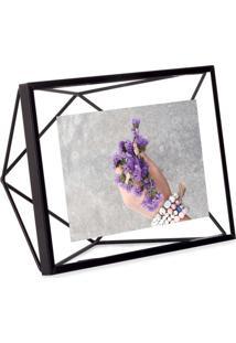 Porta-Retrato Prisma 10X15 Cm Preto