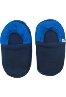 Pantufa Color Bebenet Azul Marinho