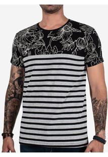 Camiseta Traço Floral 102597