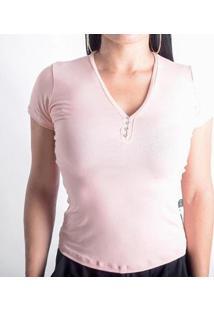 Camiseta Viscolycra Duquesa Feminina - Feminino