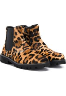 Dolce & Gabbana Kids Ankle Boot - Marrom
