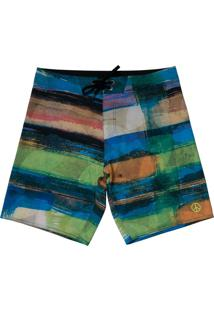 Boardshort Vw Freedom Crazy Stripes