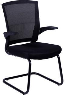 Cadeira De Escritório Interlocutor Swift Preta