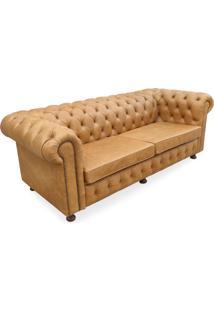 Sofá Chesterfield Design Clássico De Luxo