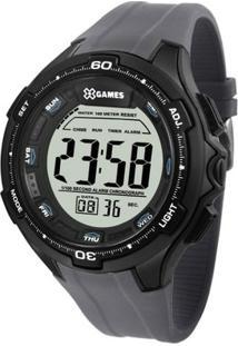 Relógio Masculino X-Games Digital Xmppd466-Bxqx - Unissex-Cinza