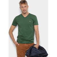 55af2455a45 Netshoes. Camiseta Lacoste Gola V ...