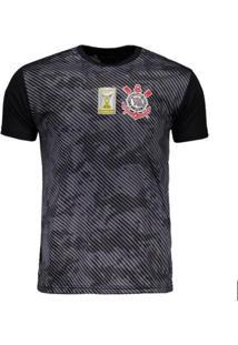 dbe897d276845 Camisa Corinthians Basic Camuflagem Patch Masculina - Masculino