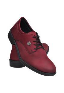Sapato Social Masculino Leve Macio Dia A Dia Moderno Preto 37 Vermelho