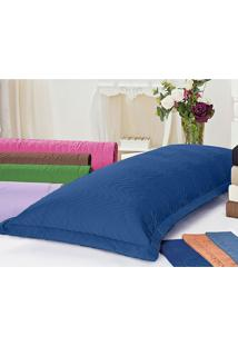 Porta Travesseiro Juma Mini Xuxáo Azul Royal - Tricae