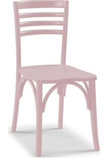 Cadeira De Jantar Samara Rosa Claro