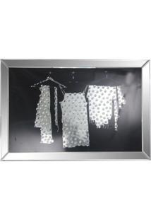 Quadro Decorativo De Parede Mirror Com Moldura De Espelho