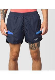 Shorts Masculino Running Laser Azul G - Speedo