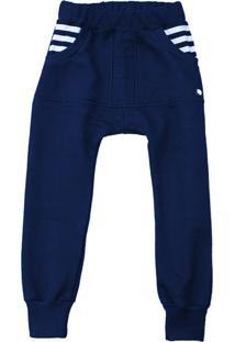 Calã§A Jogger Comfy Marinho - Azul Marinho - Menino - Dafiti