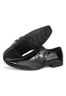Sapato Social Masculino Rebento Preto