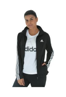 19dfeca0537ff Agasalho Adidas Back 2 Basics 3S - Feminino - Preto/Branco