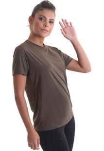 Camiseta Cores Marrom Praaiah
