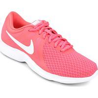 59667807535 Tênis Nike Wmns Revolution 4 Feminino - Feminino-Rosa+Branco
