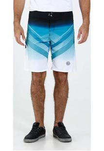Bermuda Masculina Surf Estampa Riscos Marisa