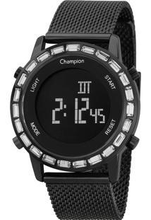 Relógio Champion Digital Feminino Ch48117D