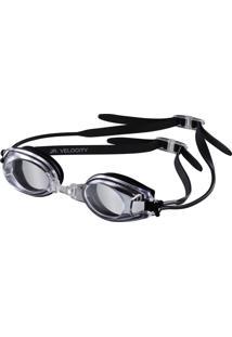 Óculos Natação Infantil Speedo Velocity Jr - Preto