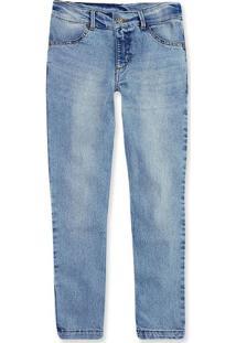 Calça Jeans Infantil Menino Com Lavação Clara Hering Kids