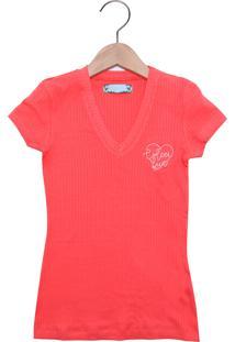 0159d3ba0 Camiseta Para Meninas Com Manga Viscose infantil   Shoes4you