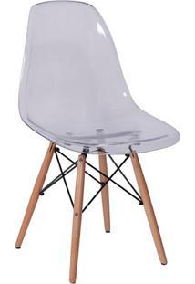 Cadeira Eames Dkr- Incolor & Madeira- 80,5X46,5X42Cmor Design