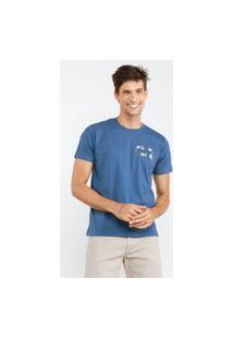 Camisa Básica O Amor Azul
