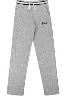 Calça Moletom Infantil Gap Detalhe Listra Masculina - Masculino