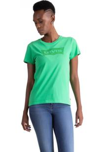 Camiseta Levis Logo Batwing - 70387 Verde