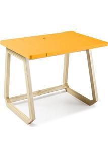 Escrivaninha Hush Amarelo