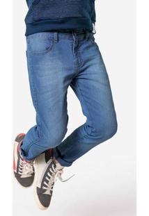 Calça Jeans Infantil Menino Com Lavação Hering Kids