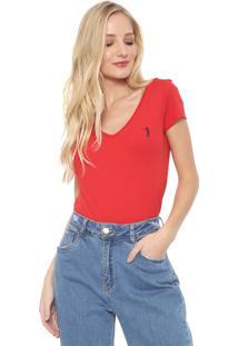 Camiseta Aleatory Logo Vermelha