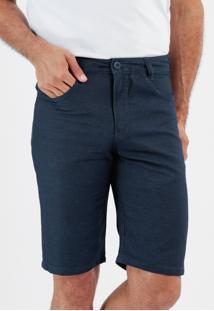 Bermuda 717 Jeans Slim Traymon Marinho