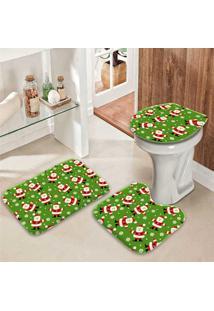 Jogo Tapetes Para Banheiro Multi Noel