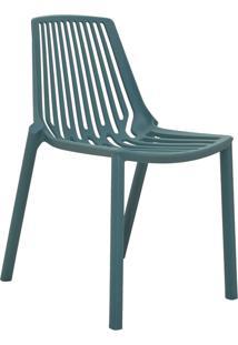 Cadeira Morgana Verde Petróleo Rivatti Móveis