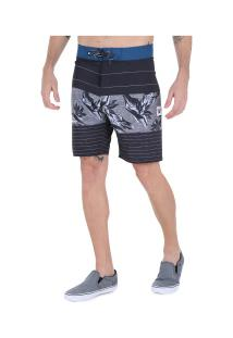 Bermuda Hang Loose Line Up - Masculina - Preto
