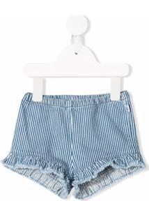 Il Gufo Short Listrado - Azul