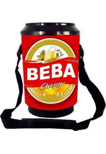Cooler Térmico 6 Latas Cerveja Bebo Alegra Store - Unissex
