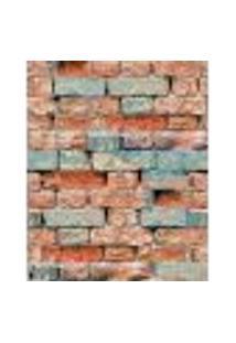 Papel De Parede Adesivo Decoração 53X10Cm Laranja -W22009