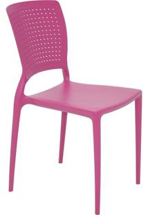 Cadeira Safira- Rosa- 84,5X43X52Cm- Tramontinatramontina
