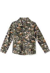 Camisa Tigor T. Tigre Infantil Verde